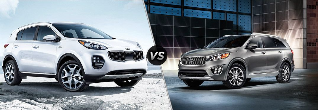 What's the Difference Between the 2018 Kia Sportage and Sorento?
