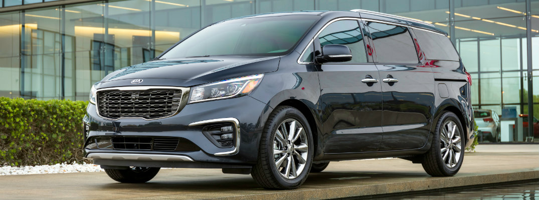 2019 Kia Sedona Model Trim Level Comparison