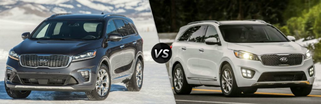 what are the differences between the 2019 and 2018 kia