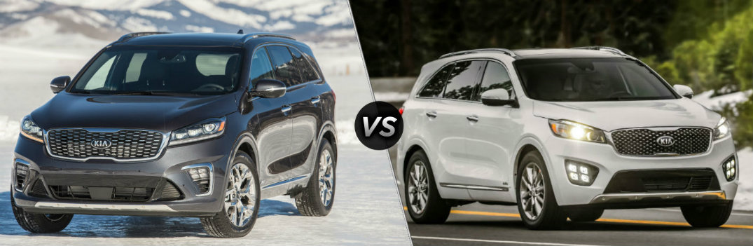 What are the Differences between the 2019 and 2018 Kia Sorento?