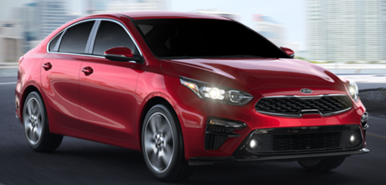 2019 Kia Forte Currant Red