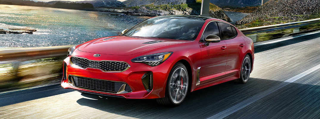 2019 Kia Stinger Color Options