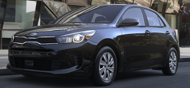 2019 Kia Rio 5-Door Hatchback Aurora Black