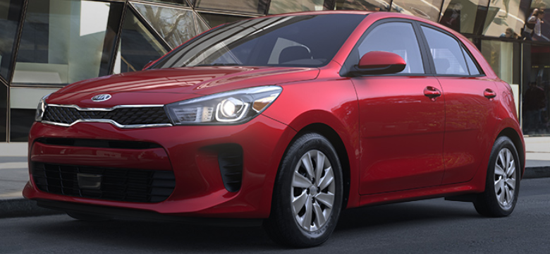 2019 Kia Rio 5-Door Hatchback Currant Red