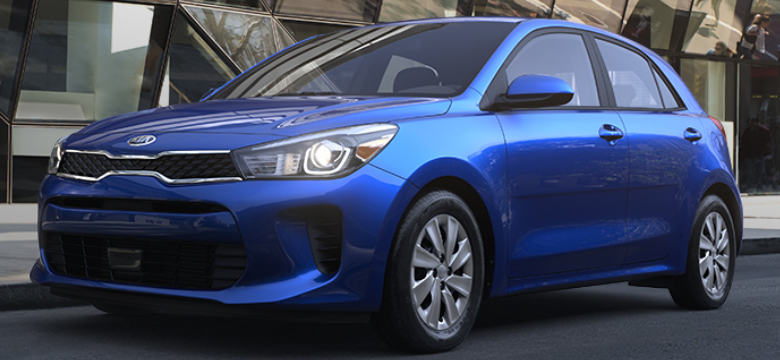 2019 Kia Rio 5-Door Hatchback Deep Sea Blue