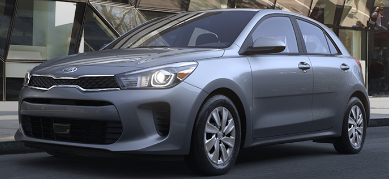 2019 Kia Rio 5-Door Hatchback Phantom Gray