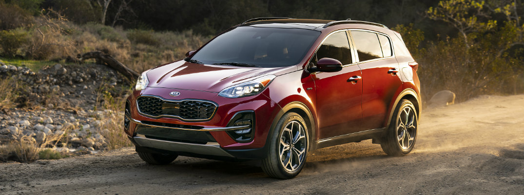 What Trim Levels are Available for the 2020 Kia Sportage?