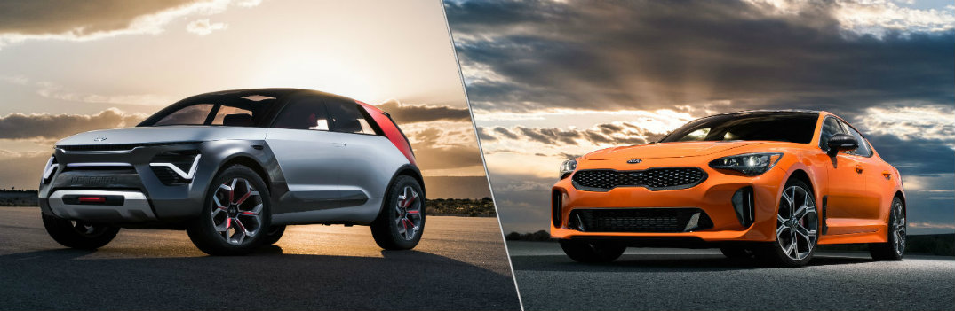 Kia HabaNiro Electric Concept and Kia Limited Edition Stinger GTS