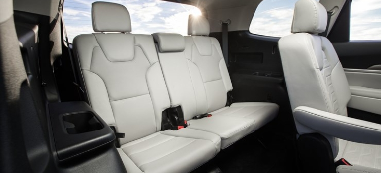 2020 Kia Telluride third row seat gray