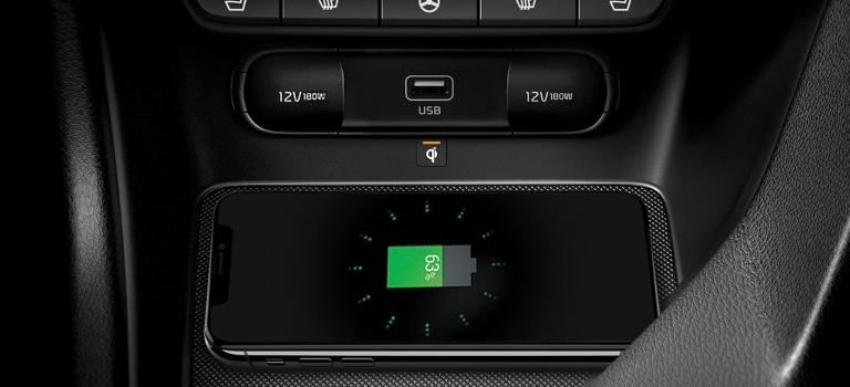 2020 Kia Sportage USB port