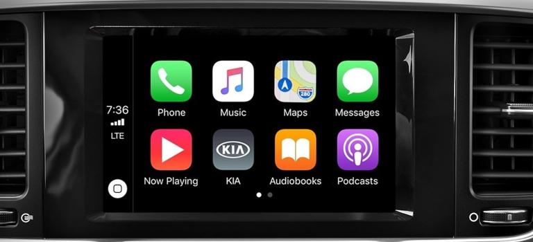 2020 Kia Sportage with Apple CarPlay