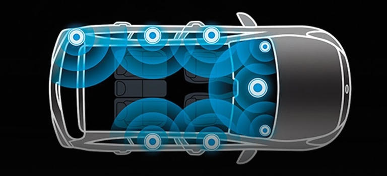 20219 Kia Niro speaker system diagram