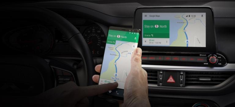 2020 Kia Forte with Android Auto