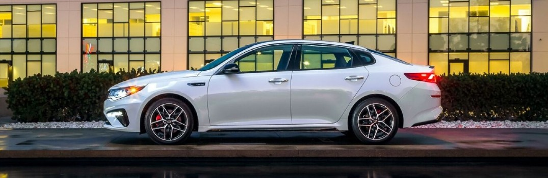 Photo gallery: interior and exterior color options on the 2020 Kia Optima