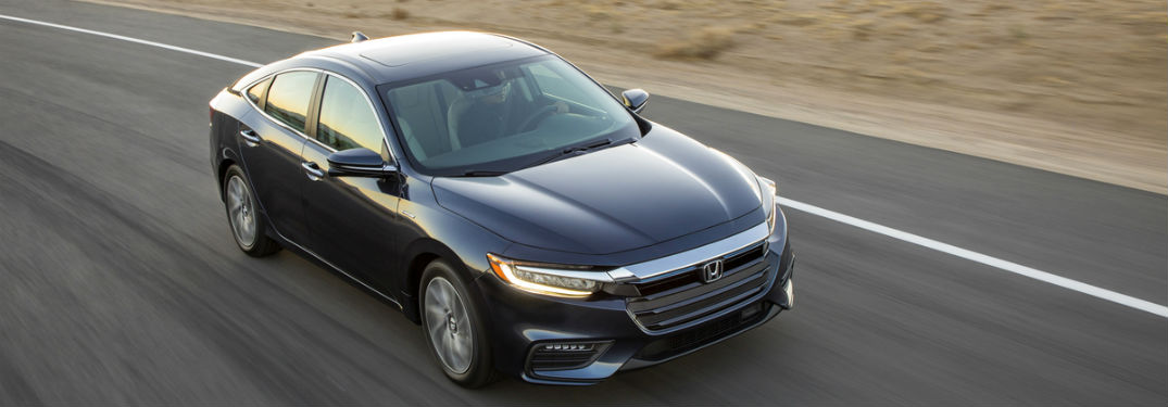 Exterior Of 2019 Honda Insight Driving On Road