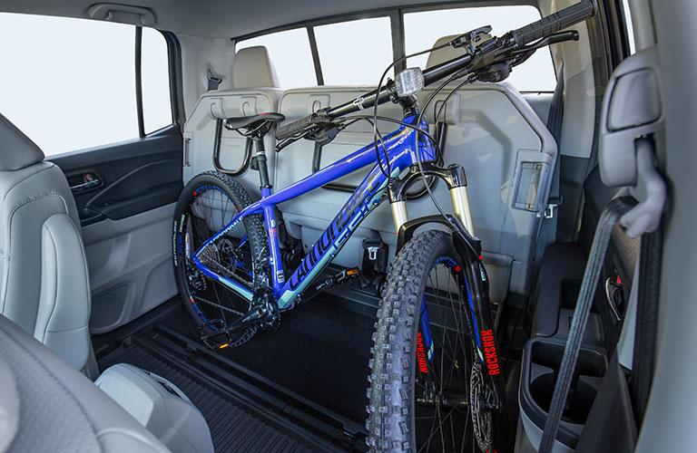 bike in 2018 Honda Ridgeline
