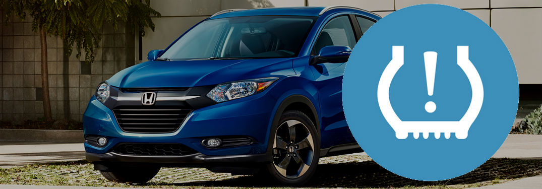 2018 honda hrv with tire pressure warning indicator
