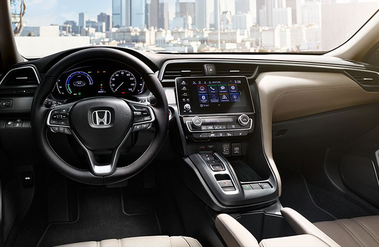 2019 honda insight interior