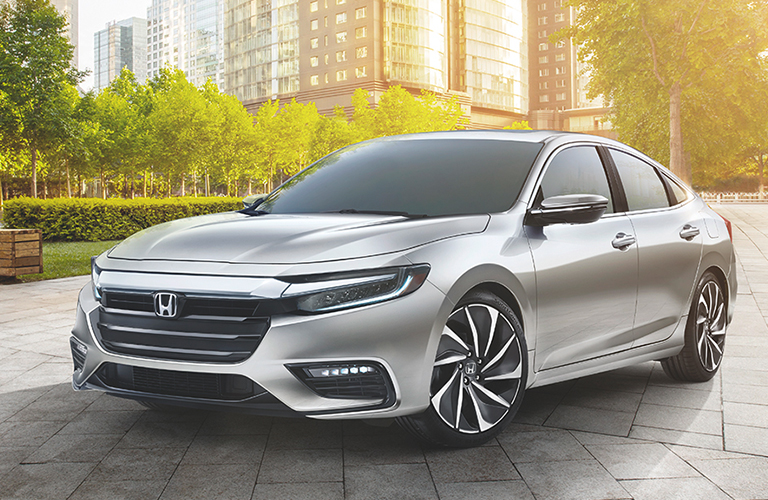 2019 honda insight exterior three quarter front shot