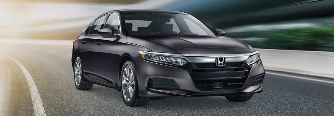 2019 Honda Accord Sedan LX driving on a road