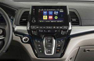 2019 Honda Odyssey dashboard features