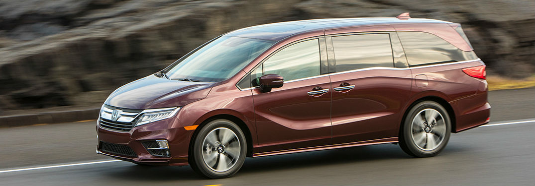 2019 Honda Odyssey offers impressive amounts of passenger and cargo space