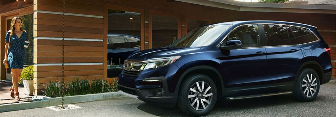 High-tech safety features available in new 2019 Honda Pilot help provide superior passenger protection