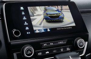 2020 Honda CR-V rear view camera display