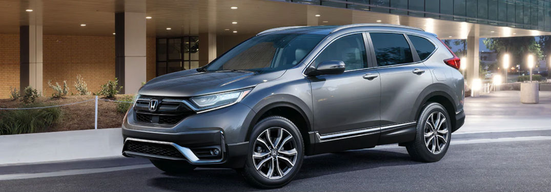2020 Honda CR-V parked on a street