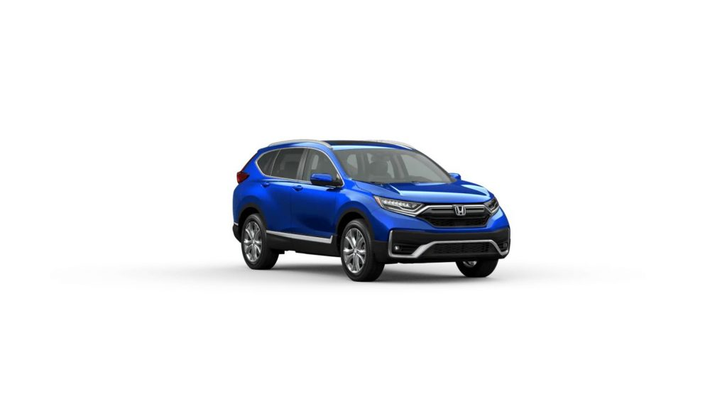 2020 Honda CR-V Touring Aegean Blue Metallic
