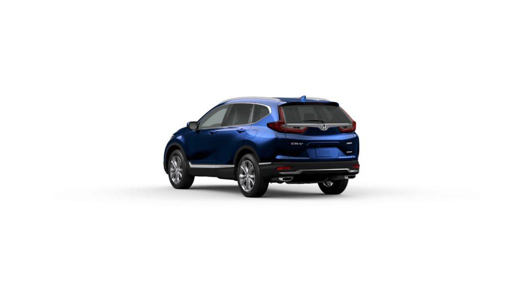 2020 Honda CR-V Touring Obsidian Blue Pearl