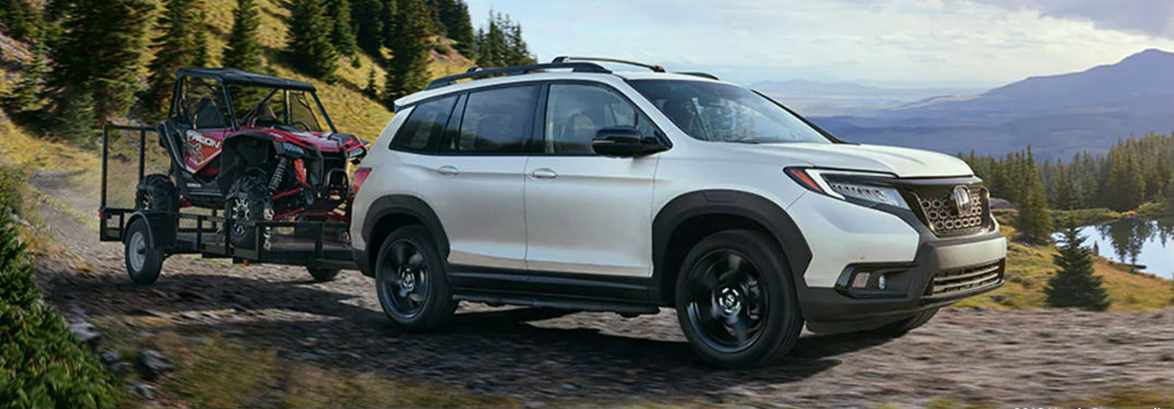 2020 Honda Passport front and side profile