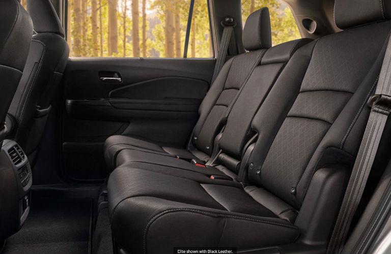 2020 Honda Passport second-row seats