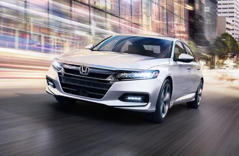 2020 Honda Accord driving on a road