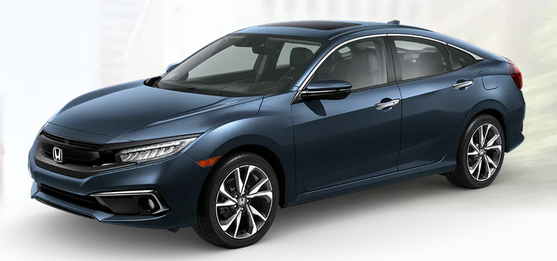 2020 Honda Civic Sedan Cosmic Blue Metallic