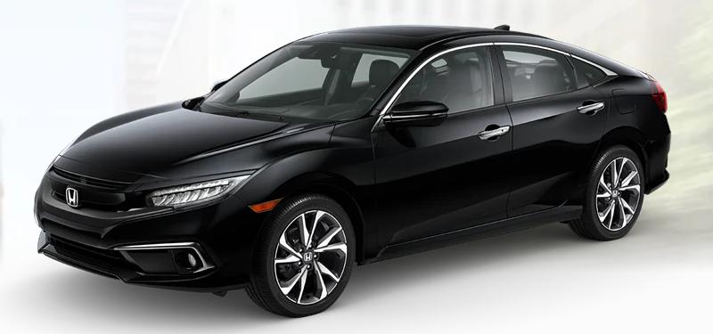 2020 Honda Civic Sedan Crystal Black Pearl