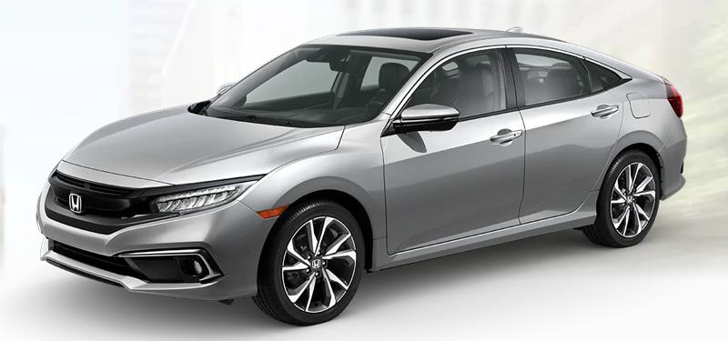 2020 Honda Civic Sedan Lunar Silver Metallic