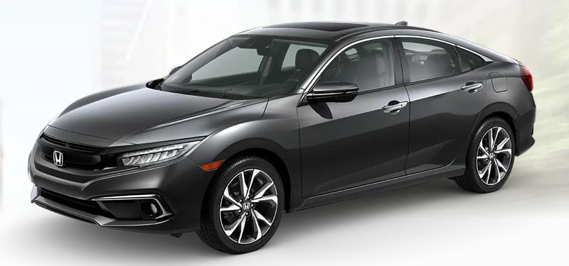 2020 Honda Civic Sedan Modern Steel Metallic