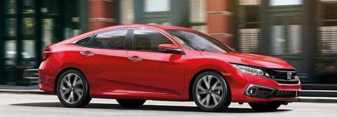8 Exterior paint color options available when choosing the 2020 Honda Civic Sedan