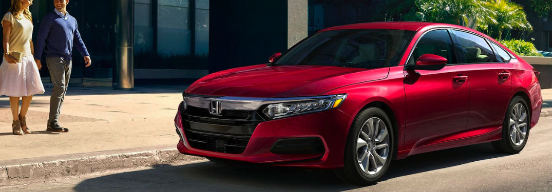 2020 Honda Accord available in 9 exterior paint color options