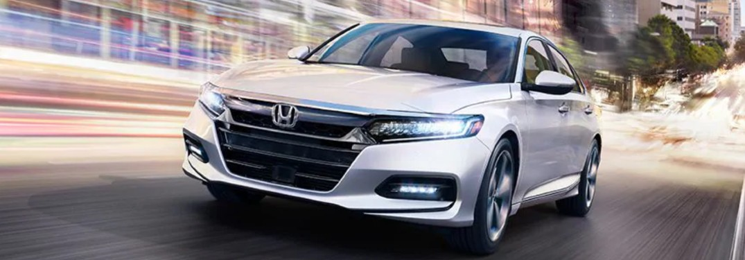 2020 Honda Accord Touring driving on a road