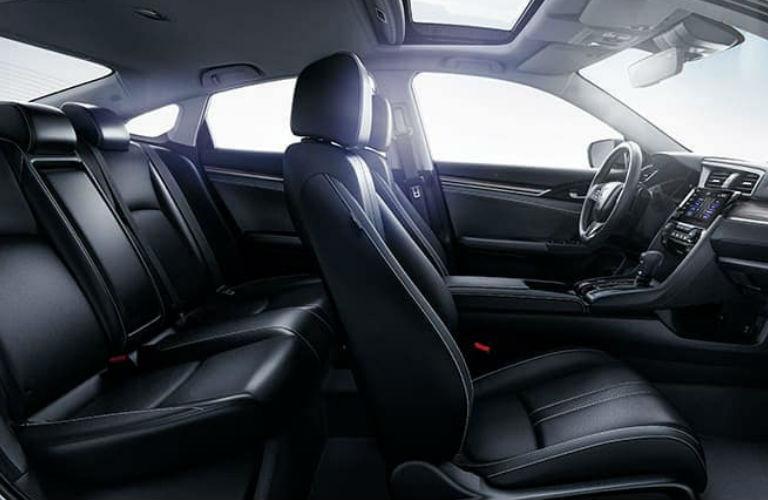 2020 Honda Civic Sedan passenger seats