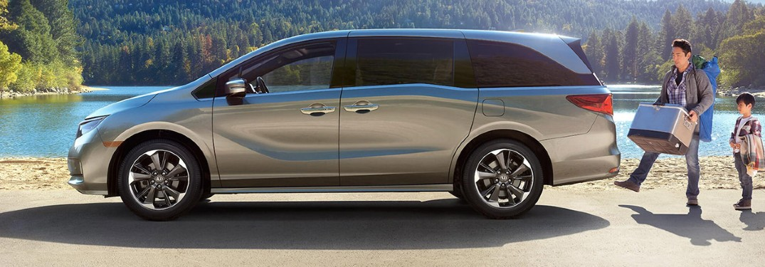 2021 Honda Odyssey is loaded with high-tech family features and comfort options