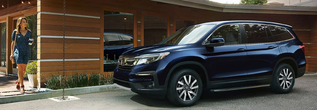 2021 Honda Pilot SUV available in 8 exterior paint color options