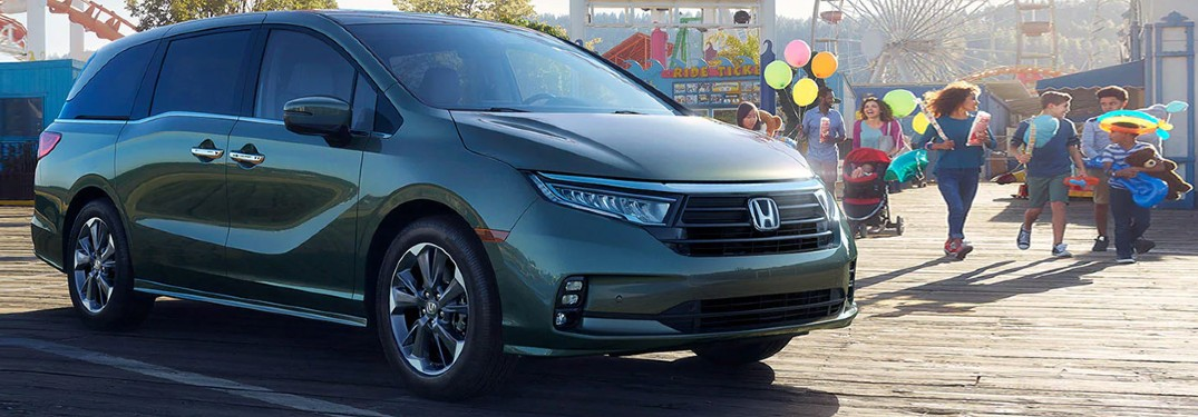 2021 Honda Odyssey minivan is available in 8 paint color options