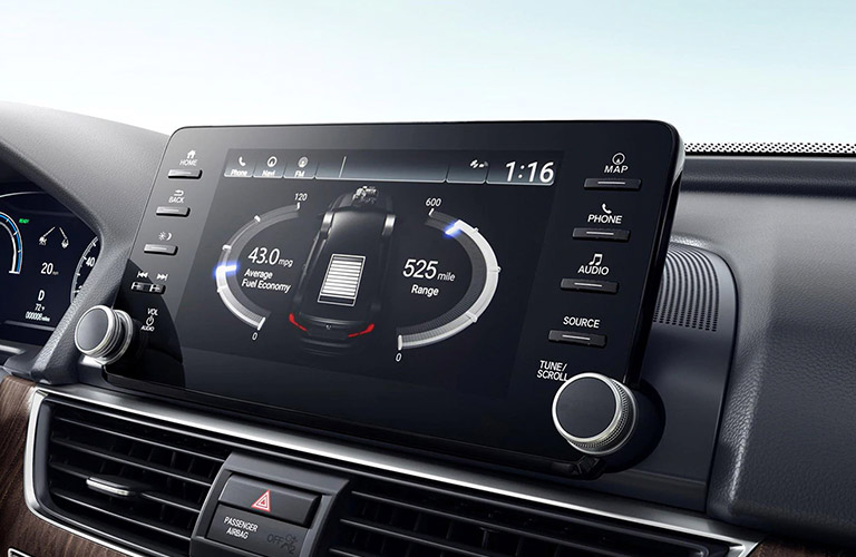 2021 Honda Accord touchscreen display