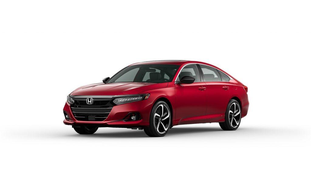 2021 Honda Accord San Marino Red
