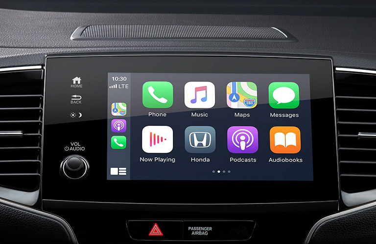 2021 Honda Pilot touchscreen display