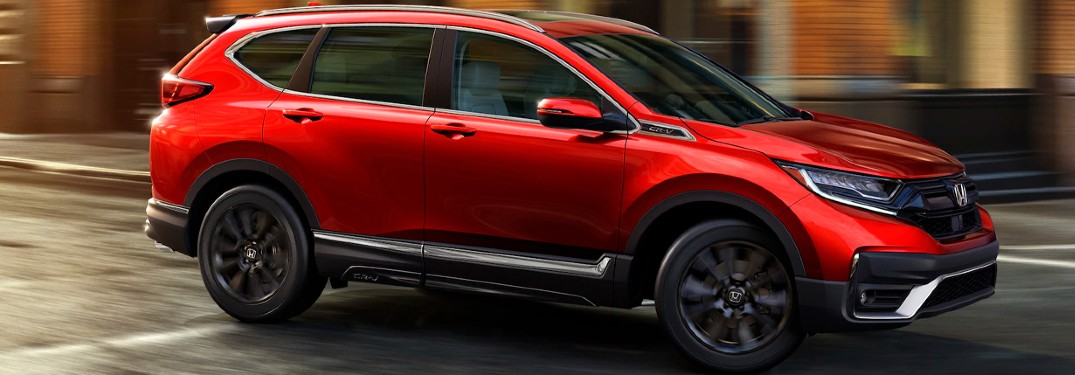 2021 Honda CR-V is available in 8 different exterior paint color options