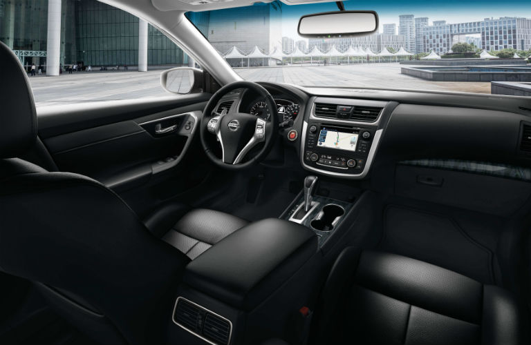 interior of 2018 Nissan altima